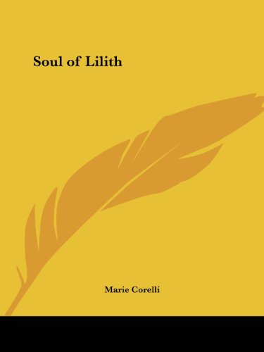 Soul of Lilith - Marie Corelli