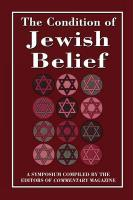 Condition of Jewish Belief