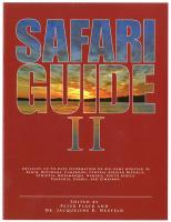 Safari Guide II: Detailed, Up-To-Date Travel Guide on Big-Game Hunting in Benin, Botswana, Cameroon, Central African Republic, Ethiopia