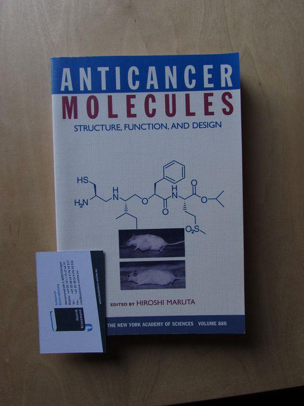 Anticancer Molecules - Structure, Function, and Design (Annals of the New York Academy of Sciences, Volume 886) - Maruta, Hiroshi