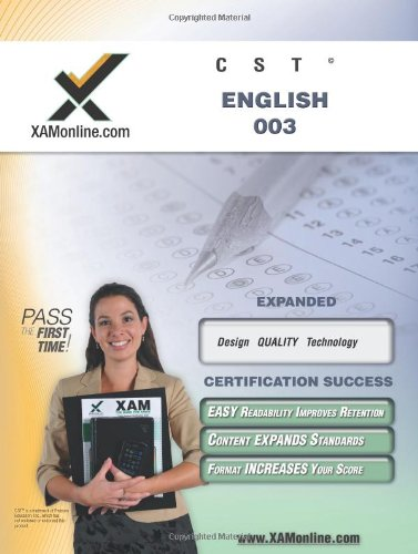 NYSTCE CST English 003 (XAMonline Teacher Certification Study Guides) - Sharon Wynne