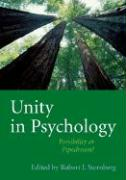 Unity in Psychology: Possibility or Pipedream?