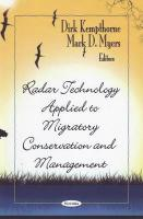 Radar Technology Applied to Migratory Conservation and Management