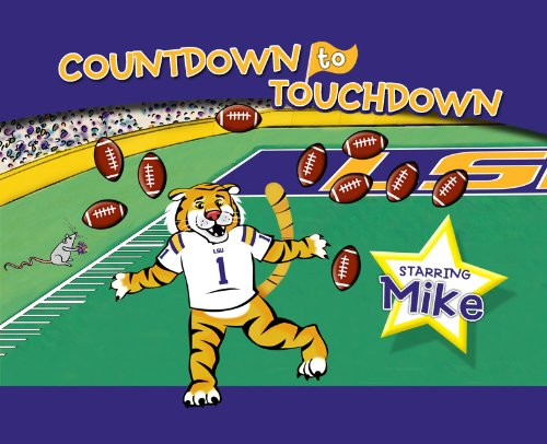 LSU Countdown to Touchdown - Piggy Toes Press