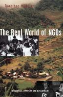Real World of Ngos - Hilhorst, Dorothea