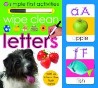 Wipe Clean Letters - Priddy, Roger
