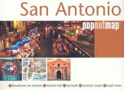 San Antonio Popout Map