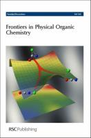 Frontiers in Physical Organic Chemistry