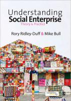 Understanding Social Enterprise: Theory and Practice