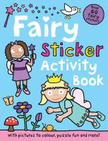 Fairy Sticker Activity Book - Priddy, Roger