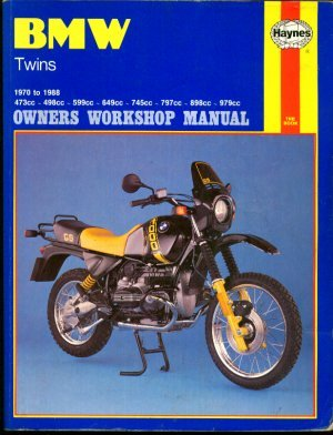 BMW Twins 1970-88 Owner's Workshop Manual - Churchill, Jeremy