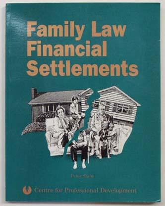Family law financial settlements. - Szabo, Peter