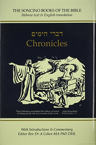 Chronicles I and II : Hebrew Text, English Translation and Commentary Digest - Rosenberg, A. J.