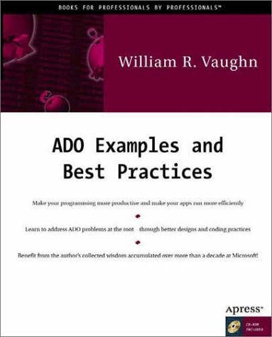 ADO Examples and Best Practices - William R. Vaughn