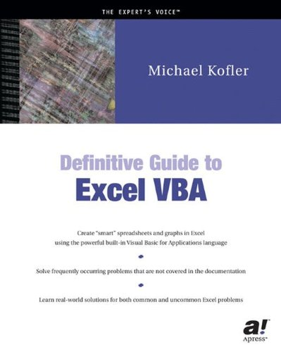 Definitive Guide to Excel VBA - Michael Kofler