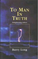 To Man in Truth: Enlightening Letters