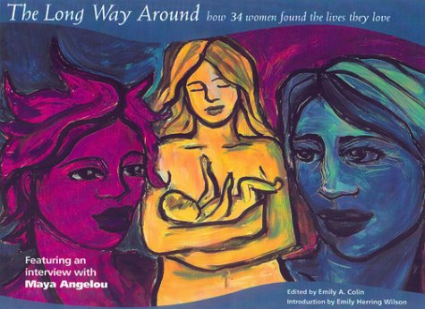 The Long Way Around : How 34 Women Found The Lives They Love - Emily A. Colin