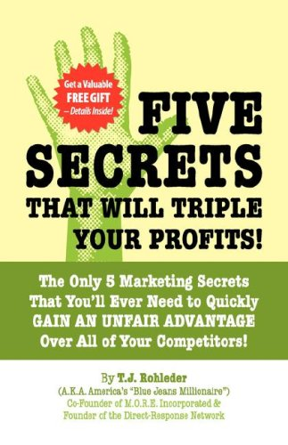 Five Secrets That Will Triple Your Profits! - T.J. Rohleder