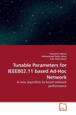 Tunable Parameters for IEEE802.11 based Ad-Hoc Network
