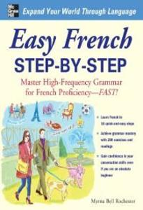 Easy French Step-by-Step als eBook von Myrna Bell Rochester - McGraw-Hill Education,