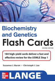 Lange Biochemistry and Genetics Flash Cards 2/E - Suzanne Baron