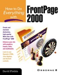 How to Do Everything with FrontPage 2000 - David Plotkin