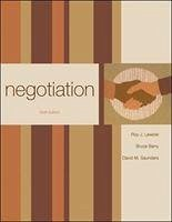 Negotiation - Lewicki, Roy J. Barry, Bruce Saunders, David M.