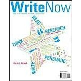 Write Now - Karin Russell