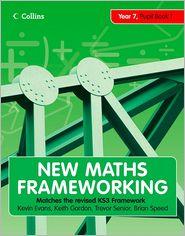 Year 7 Pupil Book 1 (Levels 3-4) - Kevin Evans, Keith Gordon, Trevor Senior, Brian Speed