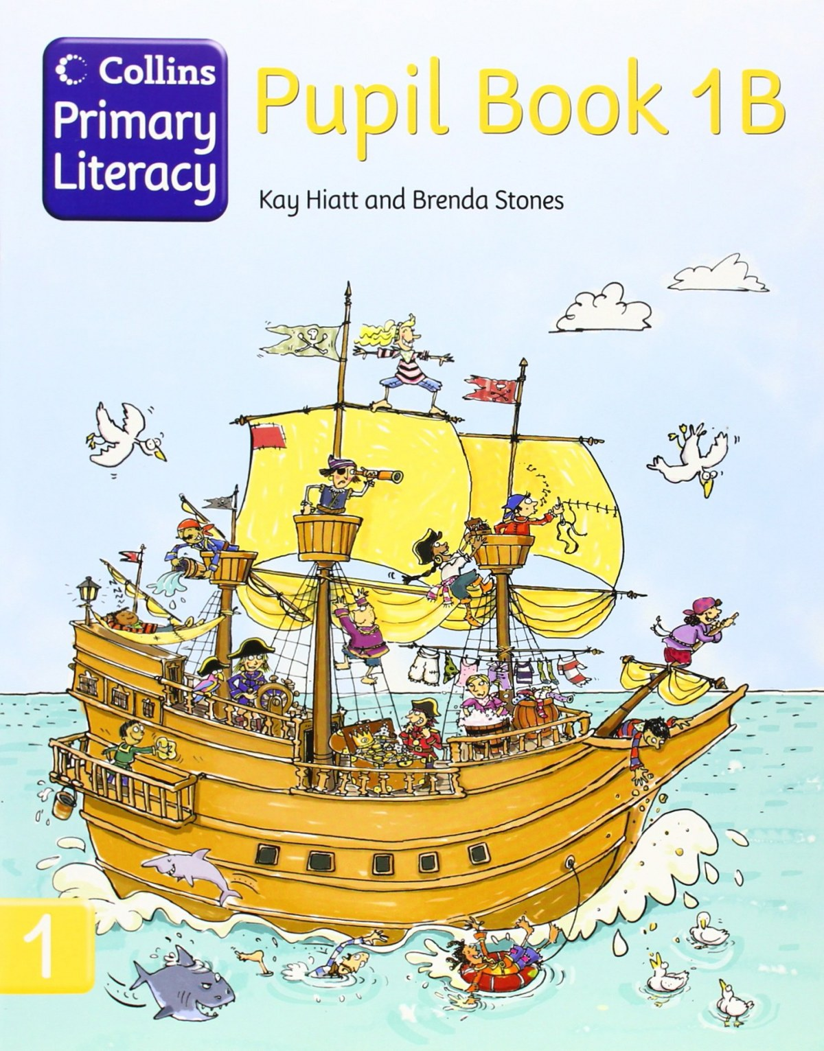 Collins primary literacy 1b.(pupil's book) - Vv.Aa