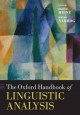 Oxford Handbook of Linguistic Analysis