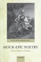 Mock-Epic Poetry from Pope to Heine - Ritchie Robertson