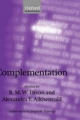 Complementation: A Cross-Linguistic Typology