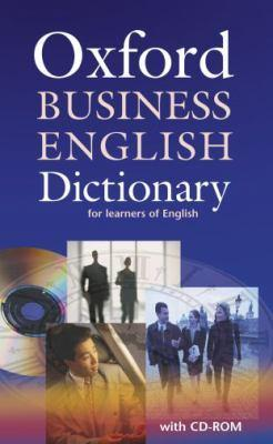 Oxford business english dictionary for learners of english dictionary and cd-rom pack - Parkinson, Dilys