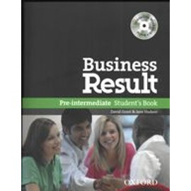 Business Result Pre-Intermediate Student's Book - With Interactive Cd-Rom - Oxford University Press