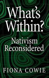 What's Within?: Nativism Reconsidered - Cowie, Fiona