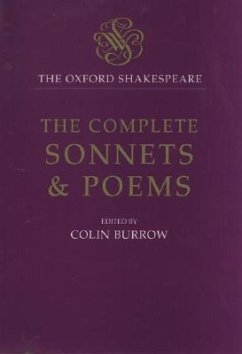 The Complete Sonnets and Poems - Shakespeare, William