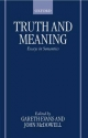 Truth and Meaning - Gareth Evans; John McDowell