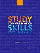 Parson, Vanessa: Study and Communication Skills for Psychology
