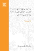 Psychology of Learning and Motivation: Advances in Research and Theory - Medin, Douglas L.