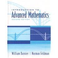 Introduction to Advanced Mathematics - Barnier, William J; Feldman, Norman