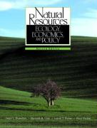 Natural Resources: Ecology, Economics, and Policy