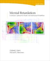 Mental Retardation: A Lifespan Approach to People with Intellectual Disabilities - Drew, Clifford J. / Hardman, Michael L.