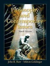 Philosophy and Contemporary Issues - Burr, John Roy / Goldinger, Milton