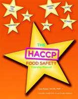 Haccp Food Safety Managers Training Manual, the for Haccp Food Safety Employee Manual