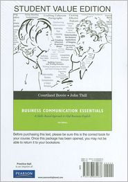 Studenty Value Edition for Business Communication Essentials - Courtland L. Bovee, John V. Thill