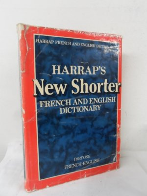 Harrap's New Shorter French and English Dictionary , Part One - Mansion , J. e & Ledesert , D. M.