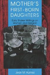Mother's First-Born Daughters - Humez, Jean M.