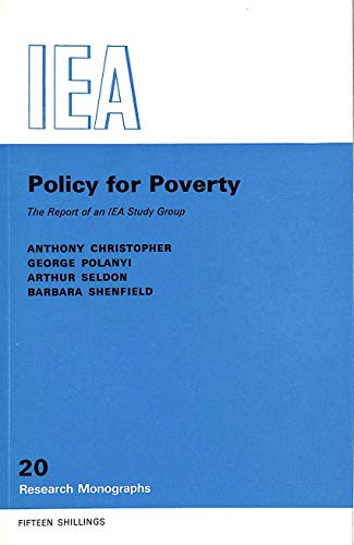 Policy for Poverty