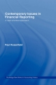 Contemporary Issues in Financial Reporting - Paul Rosenfield